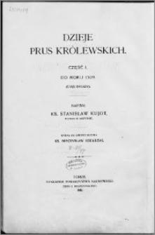 Dzieje Prus Królewskich. Cz. 1, Do roku 1309 (ciąg dalszy)
