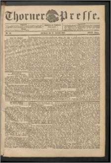 Thorner Presse 1905, Jg. XXIII, Nr. 15 + Beilage
