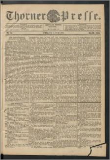 Thorner Presse 1905, Jg. XXIII, Nr. 83 + 1. Beilage, 2. Beilage