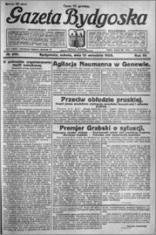 Gazeta Bydgoska 1925.09.12 R.4 nr 210