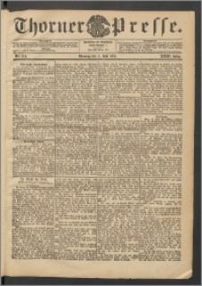 Thorner Presse 1905, Jg. XXIII, Nr. 154 + Beilage
