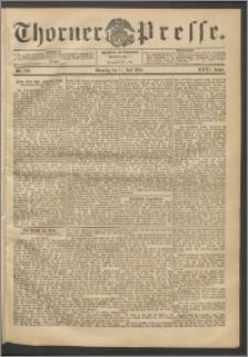 Thorner Presse 1905, Jg. XXIII, Nr. 160 + Beilage
