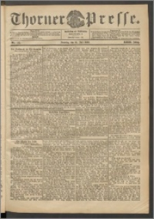 Thorner Presse 1905, Jg. XXIII, Nr. 165 + 1. Beilage, 2. Beilage