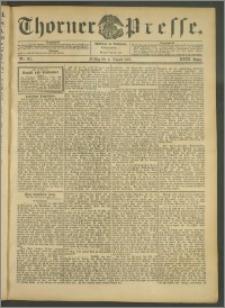 Thorner Presse 1905, Jg. XXIII, Nr. 181 + Beilage
