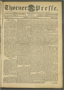 Thorner Presse 1905, Jg. XXIII, Nr. 190 + Beilage