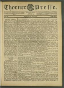 Thorner Presse 1905, Jg. XXIII, Nr. 196 + Beilage