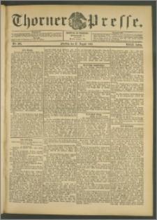 Thorner Presse 1905, Jg. XXIII, Nr. 201 + 1. Beilage, 2. Beilage