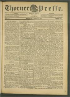 Thorner Presse 1905, Jg. XXIII, Nr. 214 + 1. Beilage, 2. Beilage