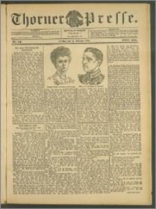 Thorner Presse 1905, Jg. XXIII, Nr. 241 + Beilage