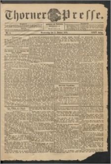 Thorner Presse 1906, Jg. XXIV, Nr. 2 + Beilage