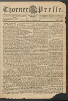 Thorner Presse 1906, Jg. XXIV, Nr. 3 + Beilage
