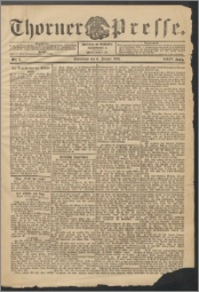 Thorner Presse 1906, Jg. XXIV, Nr. 4 + Beilage
