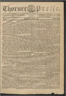 Thorner Presse 1906, Jg. XXIV, Nr. 5 + 1. Beilage, 2. Beilage