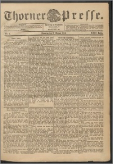 Thorner Presse 1906, Jg. XXIV, Nr. 6 + Beilage, Beilagenwerbung