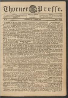 Thorner Presse 1906, Jg. XXIV, Nr. 8 + Beilage