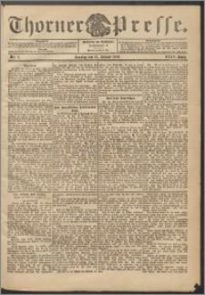 Thorner Presse 1906, Jg. XXIV, Nr. 11 + 1. Beilage, 2. Beilage