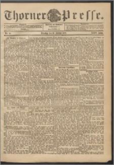 Thorner Presse 1906, Jg. XXIV, Nr. 12 + Beilage
