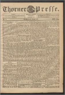 Thorner Presse 1906, Jg. XXIV, Nr. 18 + Beilage, Beilagenwerbung, Extrablatt