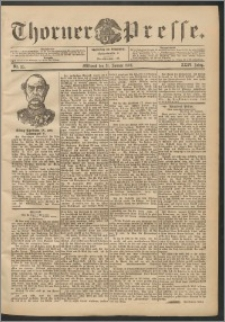 Thorner Presse 1906, Jg. XXIV, Nr. 25 + Beilage