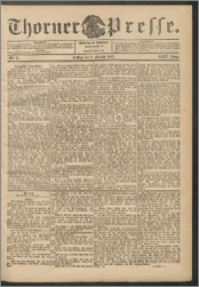 Thorner Presse 1906, Jg. XXIV, Nr. 27 + Beilage
