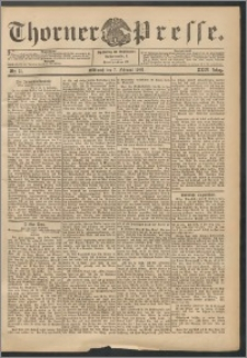 Thorner Presse 1906, Jg. XXIV, Nr. 31 + Beilage