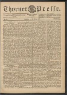 Thorner Presse 1906, Jg. XXIV, Nr. 34 + Beilage