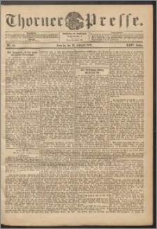 Thorner Presse 1906, Jg. XXIV, Nr. 41 + 1. Beilage, 2. Beilage
