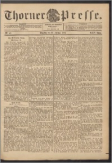 Thorner Presse 1906, Jg. XXIV, Nr. 42 + Beilage