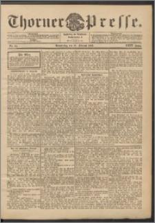 Thorner Presse 1906, Jg. XXIV, Nr. 44 + Beilage