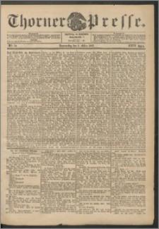 Thorner Presse 1906, Jg. XXIV, Nr. 50 + Beilage