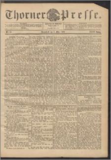 Thorner Presse 1906, Jg. XXIV, Nr. 52 + Beilage