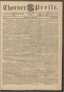 Thorner Presse 1906, Jg. XXIV, Nr. 54 + Beilage