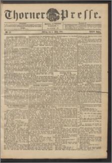 Thorner Presse 1906, Jg. XXIV, Nr. 57 + Beilage
