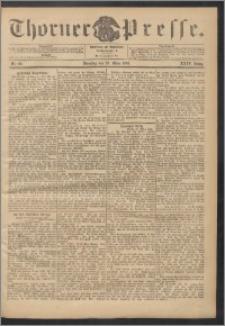 Thorner Presse 1906, Jg. XXIV, Nr. 66 + Beilage