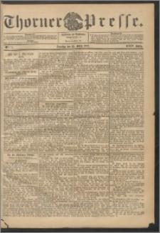Thorner Presse 1906, Jg. XXIV, Nr. 71 + 1. Beilage, 2. Beilage
