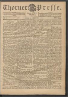 Thorner Presse 1906, Jg. XXIV, Nr. 77 + 1. Beilage, 2. Beilage, 3. Beilage