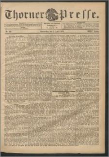 Thorner Presse 1906, Jg. XXIV, Nr. 80 + Beilage