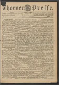 Thorner Presse 1906, Jg. XXIV, Nr. 81 + 1. Beilage, 2. Beilage