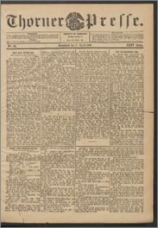 Thorner Presse 1906, Jg. XXIV, Nr. 82 + Beilage