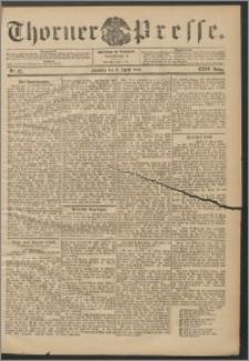 Thorner Presse 1906, Jg. XXIV, Nr. 83 + 1. Beilage, 2. Beilage