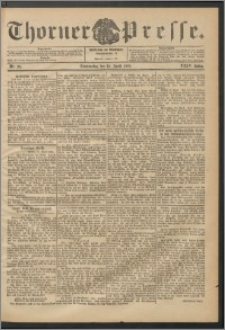 Thorner Presse 1906, Jg. XXIV, Nr. 86 + Beilage