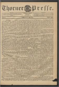 Thorner Presse 1906, Jg. XXIV, Nr. 87 + 1. Beilage, 2. Beilage
