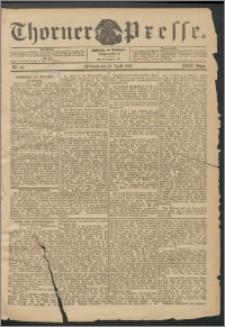 Thorner Presse 1906, Jg. XXIV, Nr. 89 + Beilage