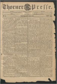 Thorner Presse 1906, Jg. XXIV, Nr. 90 + Beilage