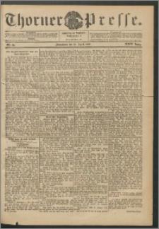 Thorner Presse 1906, Jg. XXIV, Nr. 92 + Beilage