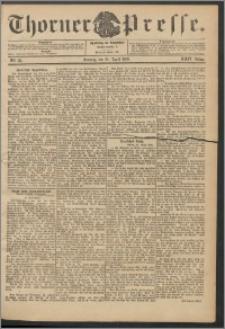 Thorner Presse 1906, Jg. XXIV, Nr. 93 + 1. Beilage, 2. Beilage