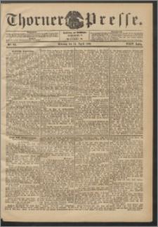 Thorner Presse 1906, Jg. XXIV, Nr. 94 + Beilage