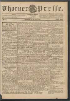 Thorner Presse 1906, Jg. XXIV, Nr. 96 + Beilage