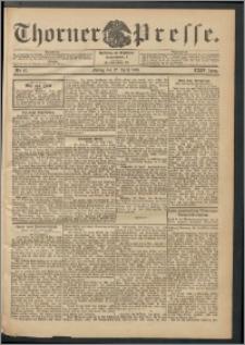 Thorner Presse 1906, Jg. XXIV, Nr. 97 + Beilage