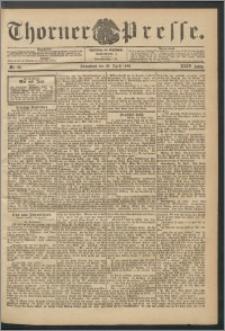 Thorner Presse 1906, Jg. XXIV, Nr. 98 + Beilage